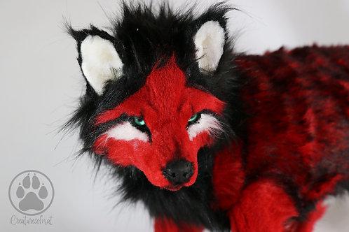 Blood Wolf - Artdoll OOAK