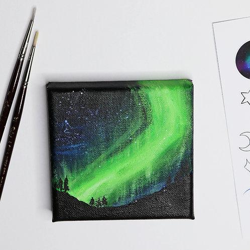 Aurora Landscapes - Acrylic Paintings