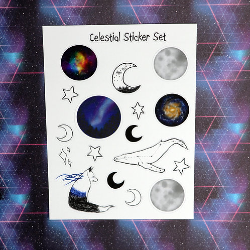 Celestial Sticker Sheet