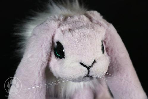 Hana the Pink Bunny Artdoll.
