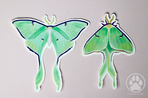 Luna moth - Sticker Pack