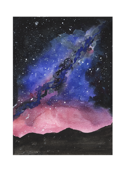 Printable - Pink Galaxy