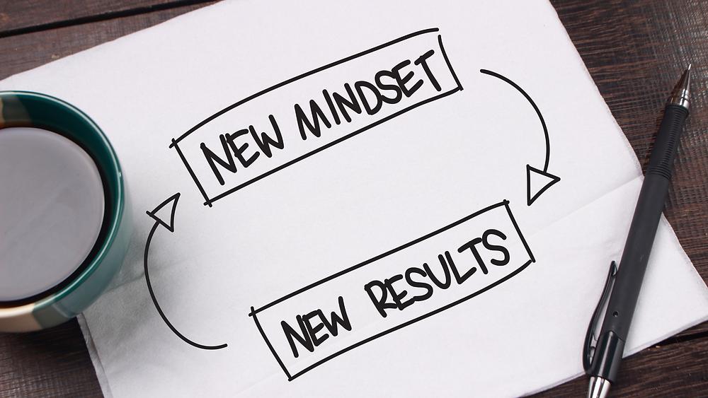 New Mindset, New Results, Verantwortung übernehmen statt Schuld haben führt zu Freude und Erfolg