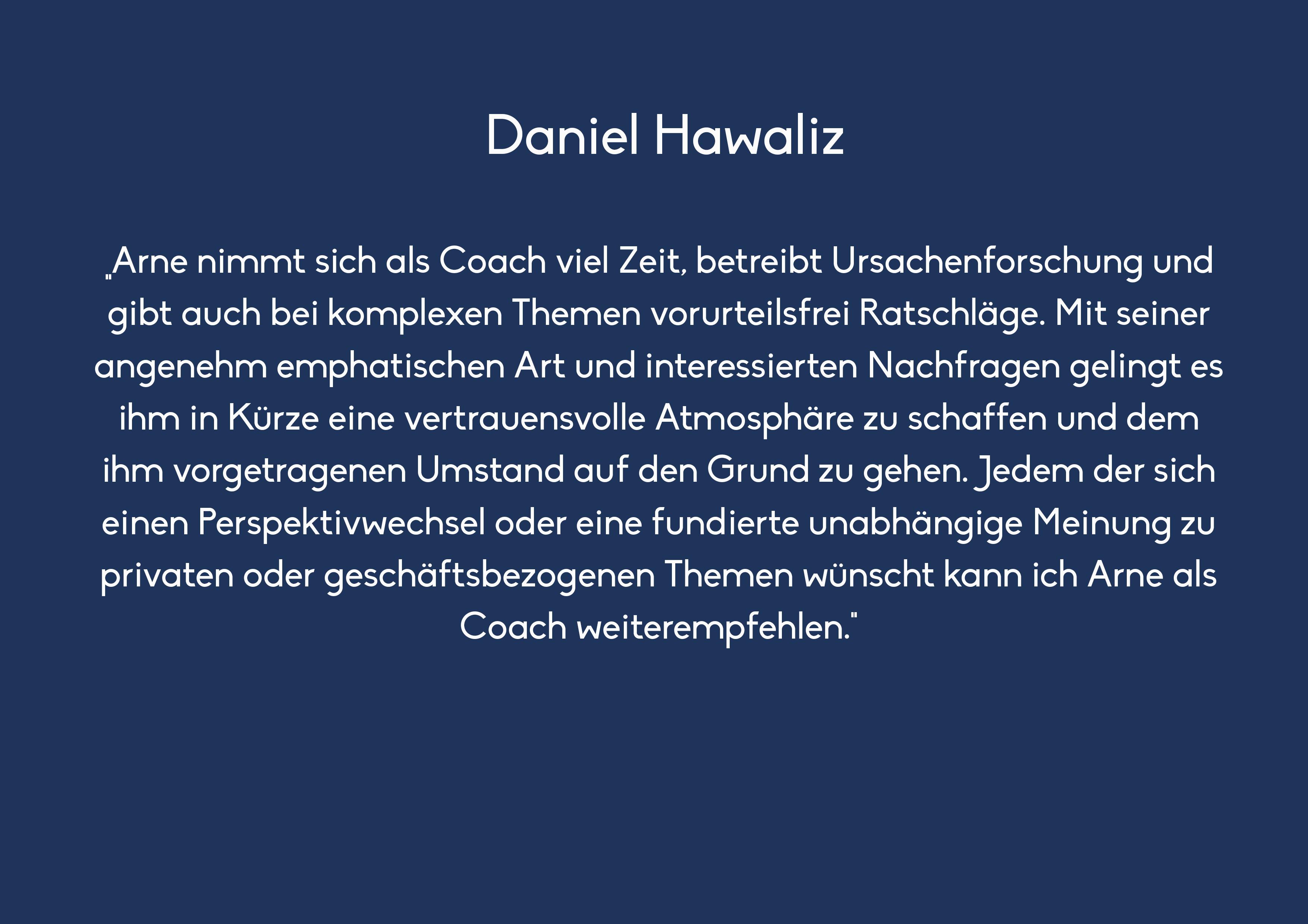 Daniel Hawaliz