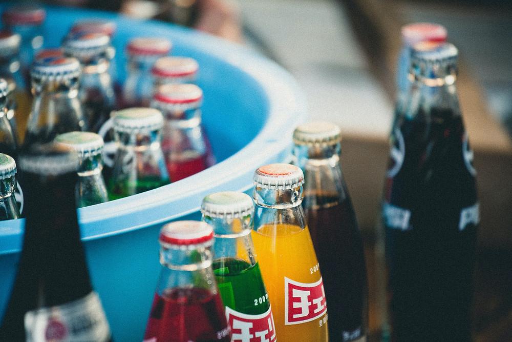 Flaschenpost, Getränkelieferant