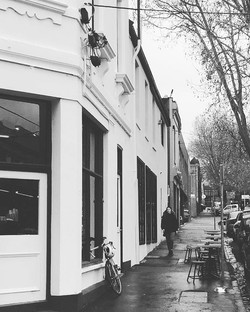 _tbcafe from the outside #melbournestreetstyle #melbourne #cafeincollingwood #melbournearchitecture