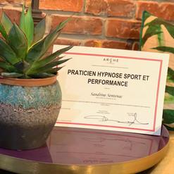 Spécialisation hypnose sport et performance