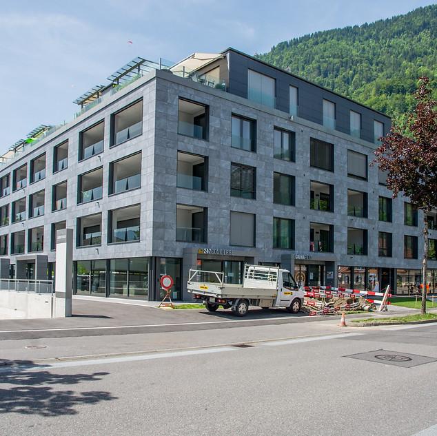 Jungfrau Center Aussen Südost