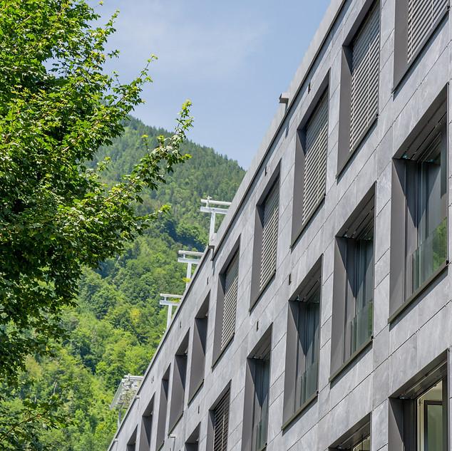 Jungfrau Center Fassade