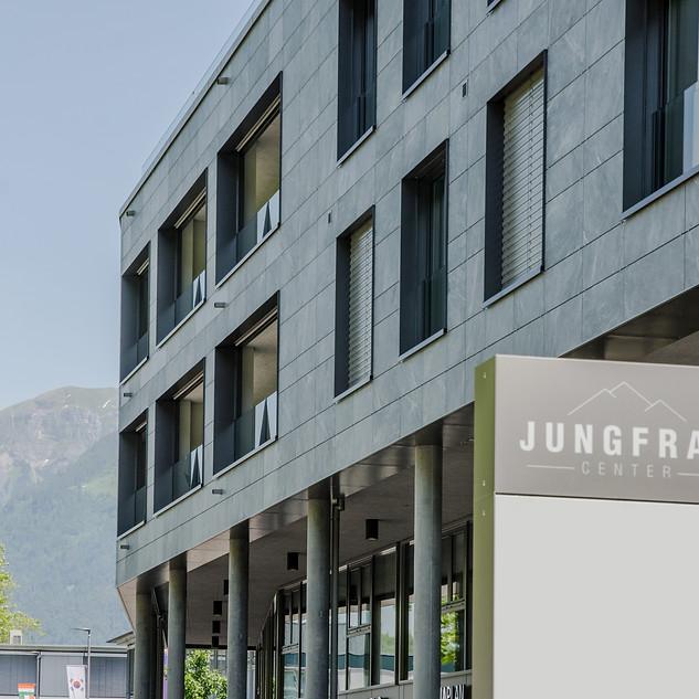 Jungfrau Center Fassade Nord