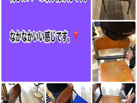 🌸ふわニットスカートデビュー🌸🌸椅子カバーの取り付け方🌸