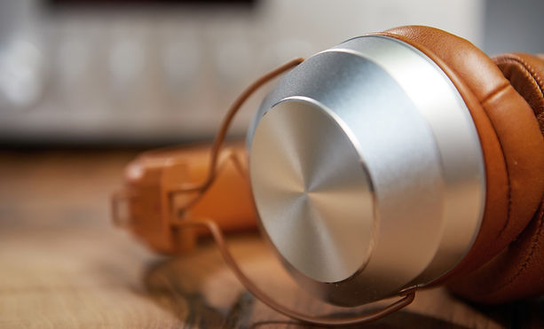 Leather Headphones