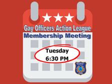 October Membership Meeting & October Events