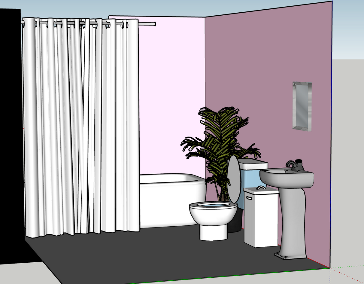Model using Sketchup