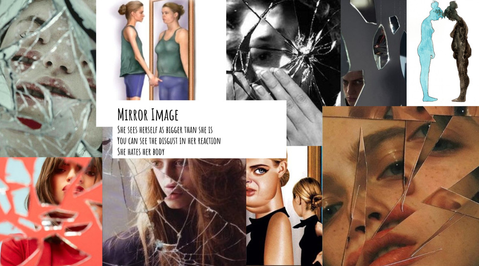 MOODBOARD FOR LIVING BY NUMBERS