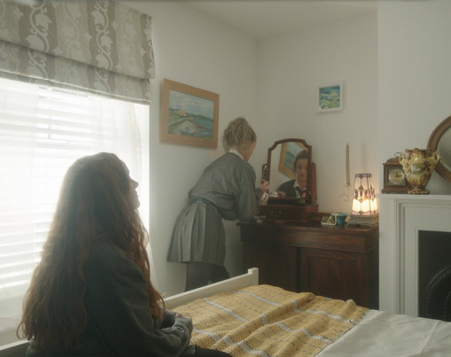 Still from Lollipops, which I designed, sourced the props, and dressed the set for.