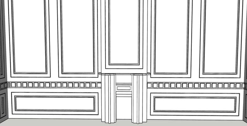 Model using Sketchup