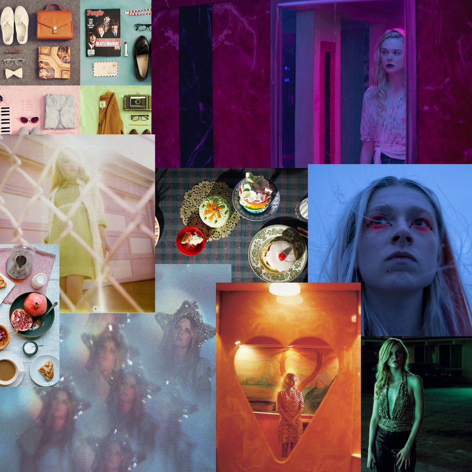 Initial moodboard for Living by Numbers