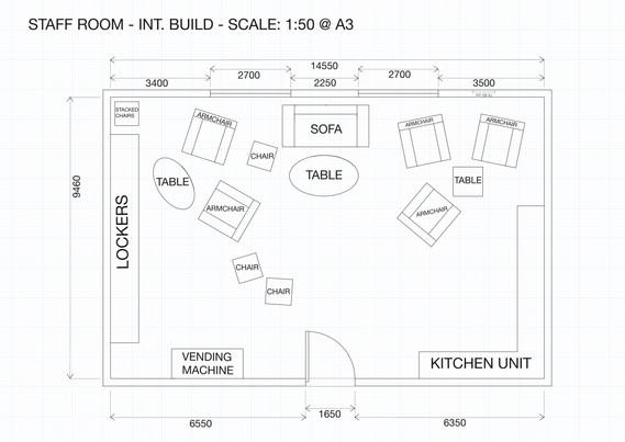 Floorplan done using AutoCAD
