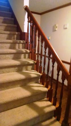 Nice Carpeted Stairway