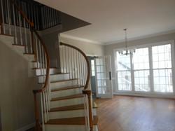 Spiral Stairway to DngRm