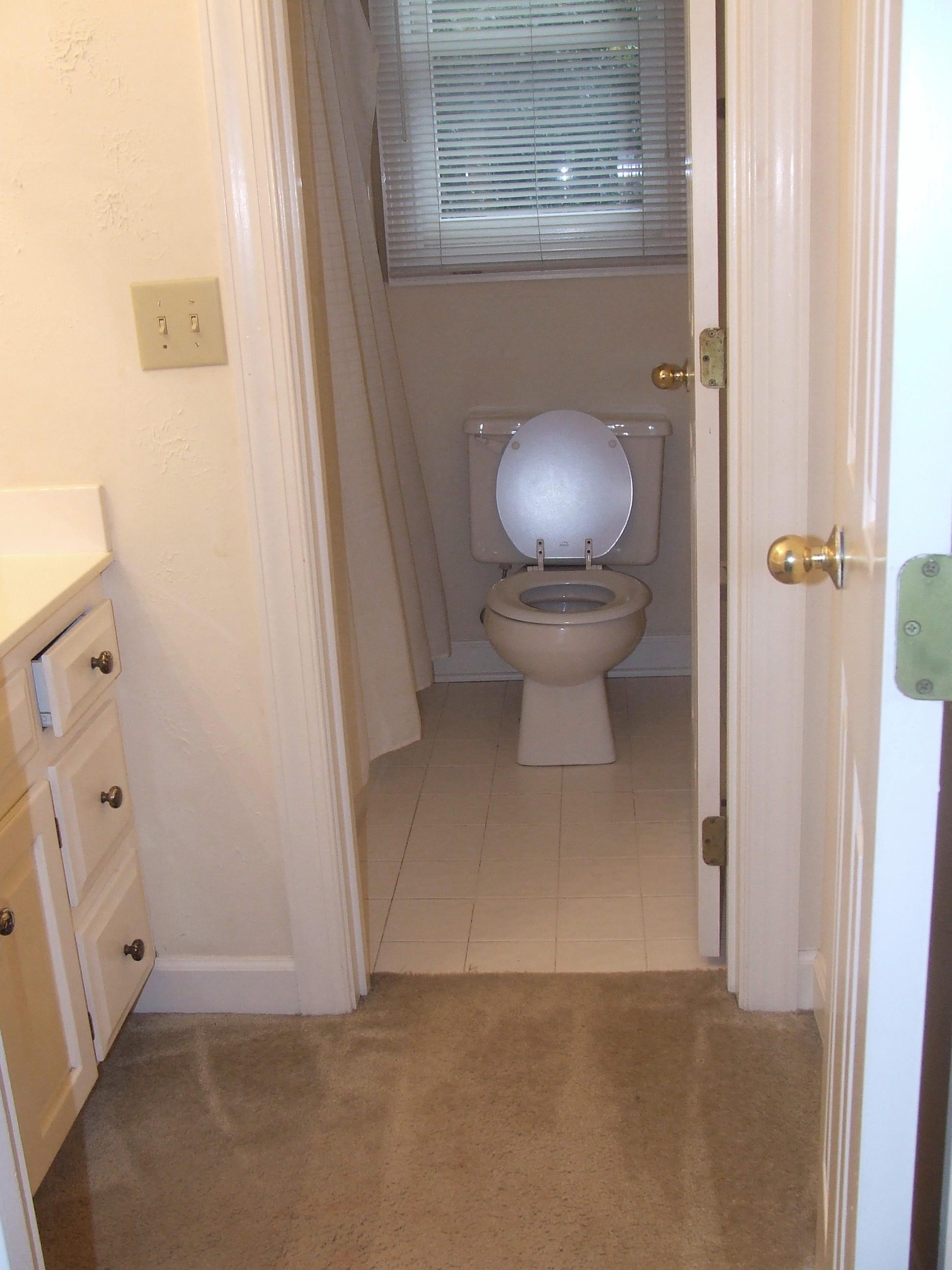 Hall bath room