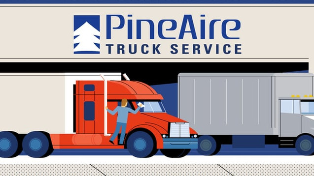 Pine Aire Truck