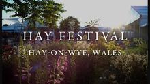 I'm at Hay Festival! So is Eddie Izzard! ... the week before :(