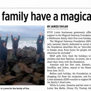 SURF COAST TIMES ARTICLE
