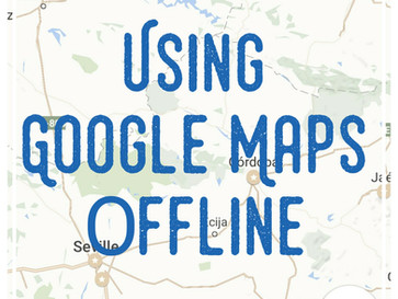 Using Google Maps & Evernote Offline