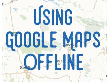 Using Google Maps & Evernote Offline