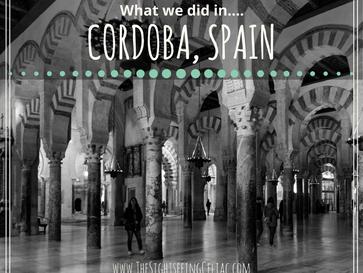 What we did in...Córdoba, Spain