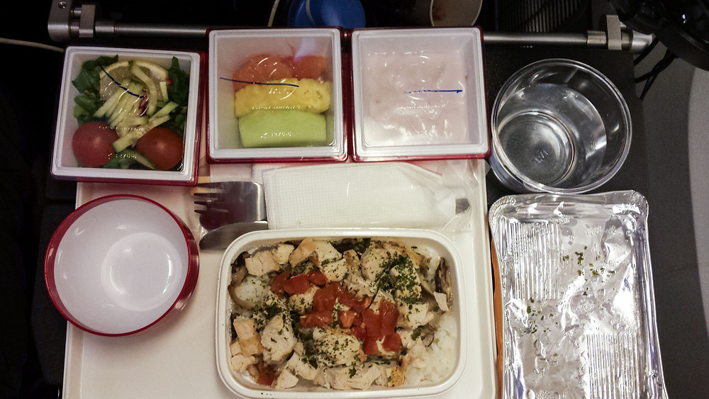Japan Airlines - gluten free meal