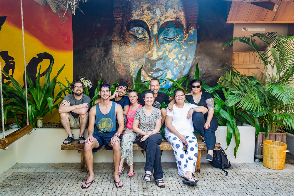 Our great tour group in Nha Trang, Vietnam