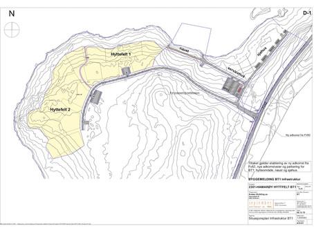 Hamarøy Hyttefelt, Infrastruktur BT1, Risøyhamn, Andøy Kommune
