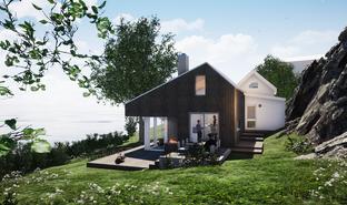 Moderne hytte vestfold