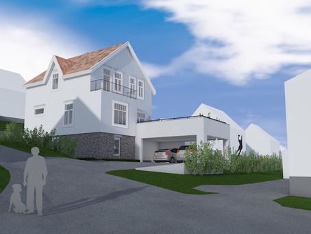Tilbygg bolig Øren