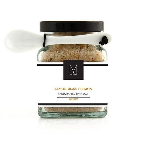 LEMONGRASS + LEMON Bath Salt (BEST SELLER!)