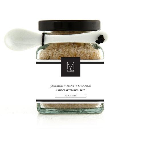JASMINE + MINT + ORANGE Bath Salt