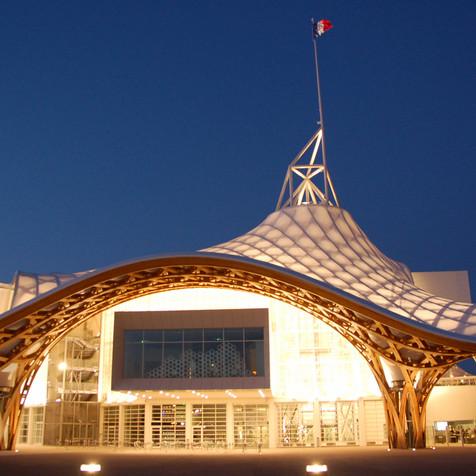 Pompidou Center Museum, Metz, France