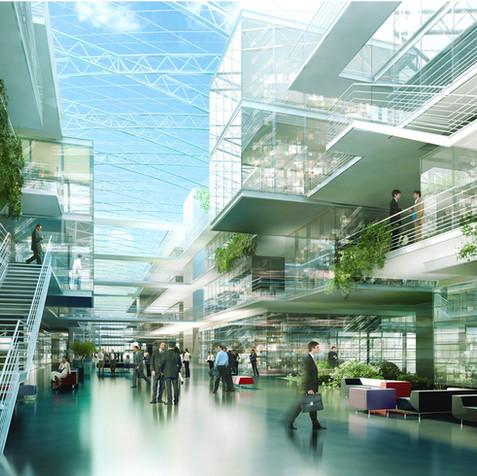 Michelin Headquarter, Clermont Ferrand, France