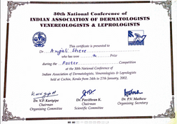 Dr. Anjali Shere Certificate 6