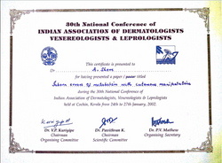 Dr. Anjali Shere Certificate 7