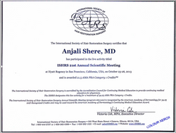 Dr. Anjali Shere Certificate 2