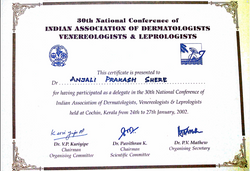 Dr. Anjali Shere Certificate 3