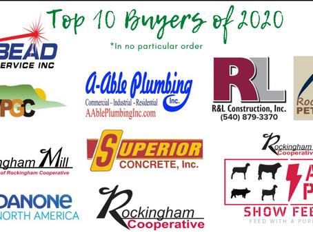 2020 Top 10 Buyers