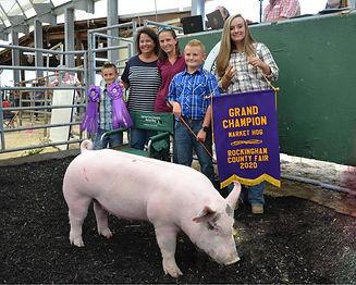 Lucas Myers- Grand Champion Market Hog.j