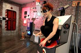 Loomie en cours de réalité virtuelle !