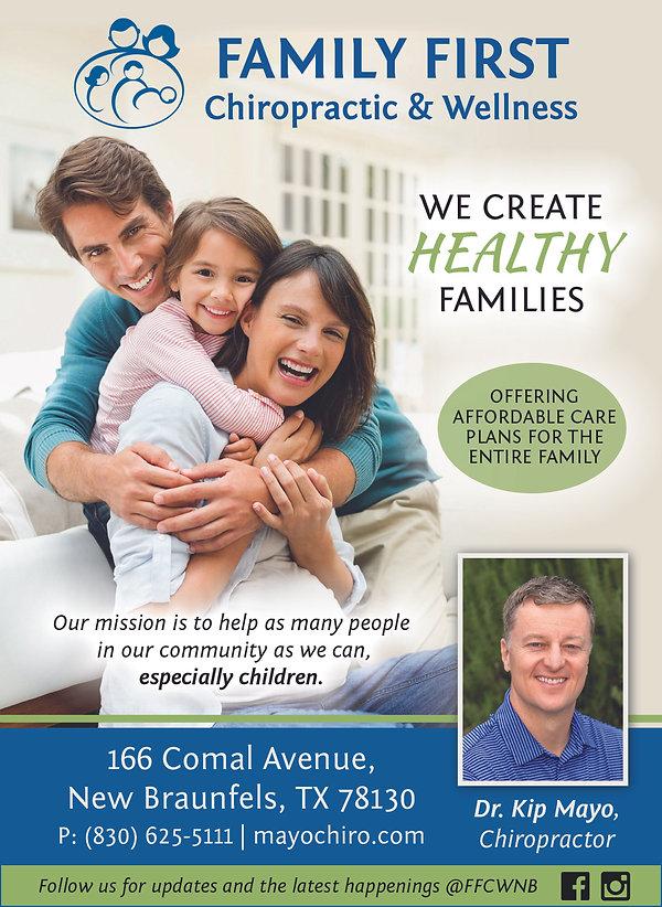 Magazine quality Ad Image for Family Fir