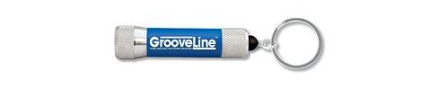 Official Grooveline 3 LED Flashlight Keyring